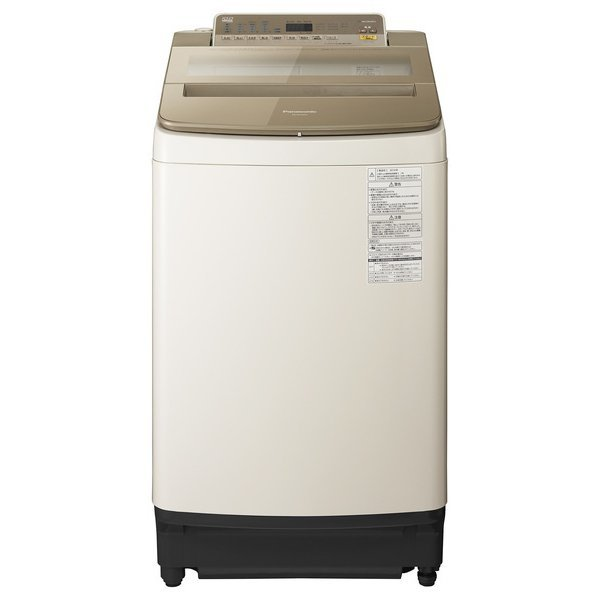 【送料無料】PANASONIC NA-FA100H5-T ブラウン [全自動洗濯機 (10kg)]