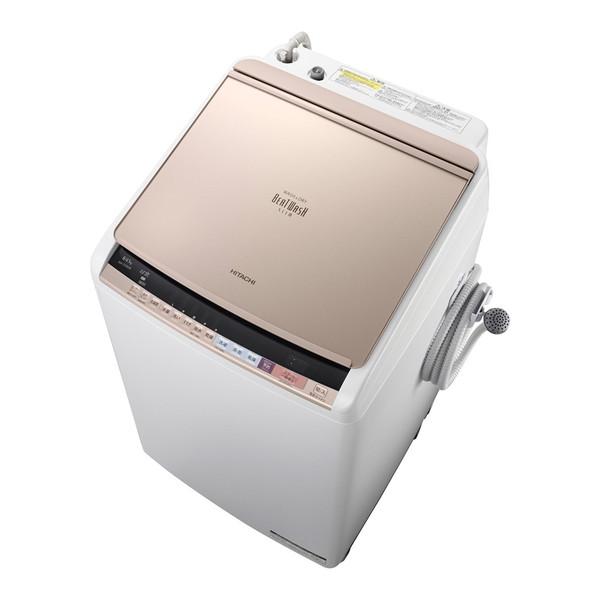 【送料無料】日立 BW-DV80B-N シャンパン ビートウォッシュ [洗濯乾燥機 (洗濯8.0kg・乾燥4.5kg)]