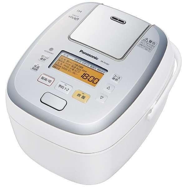 【送料無料】PANASONIC SR-PA107-W ホワイト 可変圧力おどり炊き [圧力IH炊飯器(5.5合炊き)]