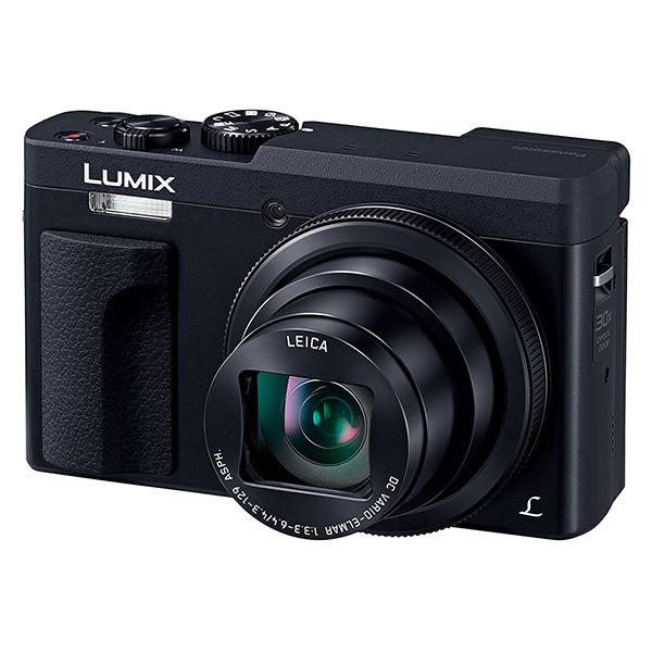 【送料無料】PANASONIC DC-TZ90-K ブラック LUMIX TZ [コンパクトデジタルカメラ(2030万画素)]