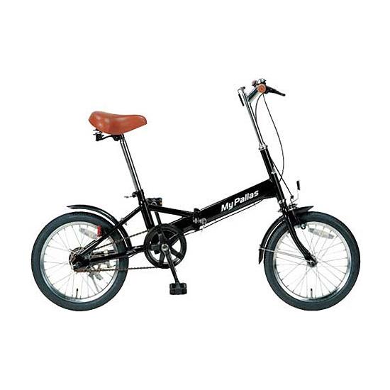 【送料無料】マイパラス M-101-BK ブラック [折りたたみ自転車(16インチ)]【本州以外の配送不可】, エムズカンパニー:09f65e1e --- yuttari.jp