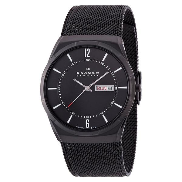 【送料無料】SKAGEN SKW6006 ブラック Aktiv(アクティブ) [クォーツ腕時計(メンズ)] 【並行輸入品】