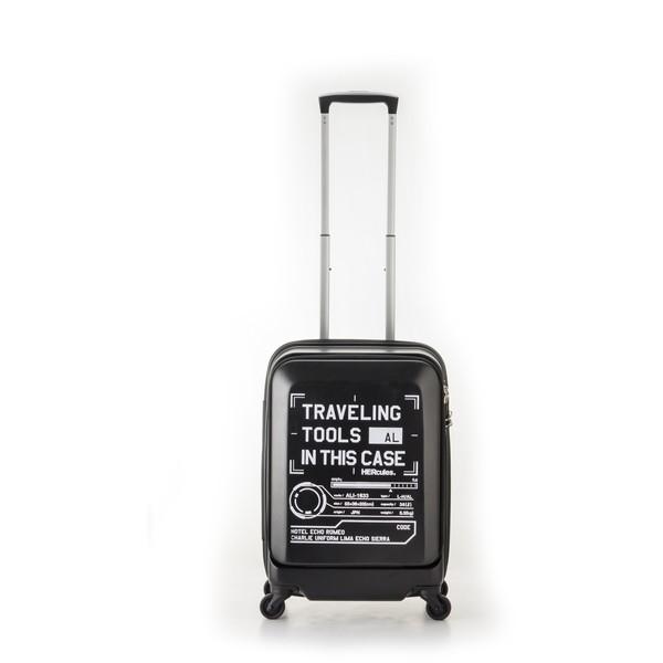 【送料無料】アジア・ラゲージ HEC-1633-18 マットブラック FREIGHTER [スーツケース (36L・1~2泊)]