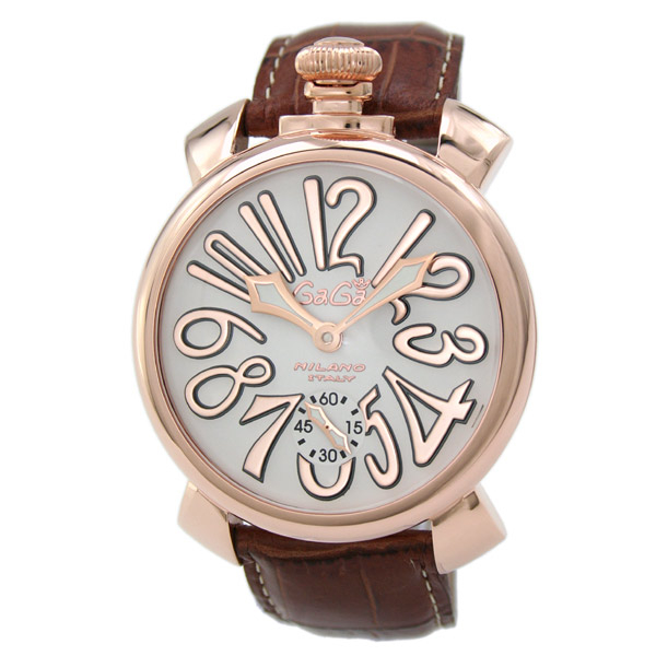 【送料無料】GAGA milano 5011.08S-BRW マヌアーレ 自動巻き [腕時計] 【並行輸入品】