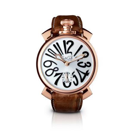 【送料無料】GAGA milano 5011.06S-BRW マヌアーレ 自動巻き [腕時計] 【並行輸入品】