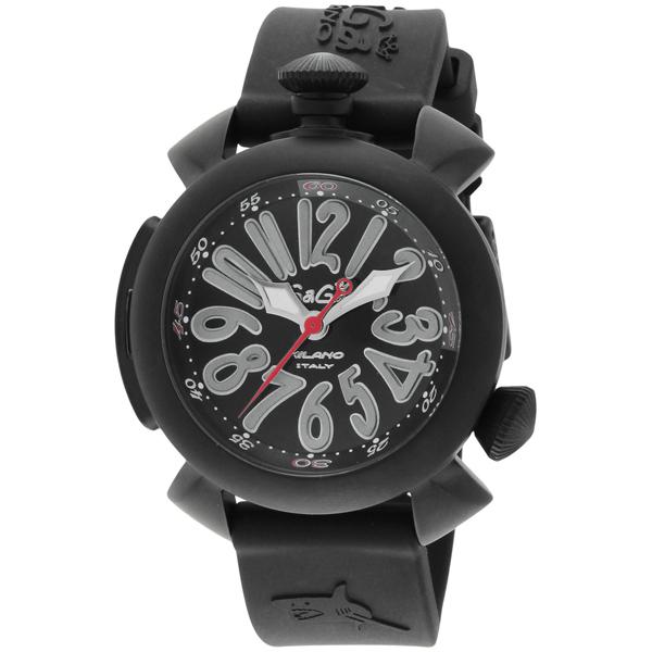 【送料無料】GAGA milano 5042-BLKRUBBER ダイビング 自動巻き [腕時計] 【並行輸入品】