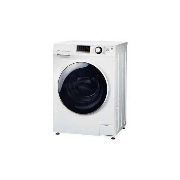 【送料無料】AQUA AQW-FV800E-W ホワイト Hot Water Washing [ドラム式洗濯機 (8.0kg) 左開き]