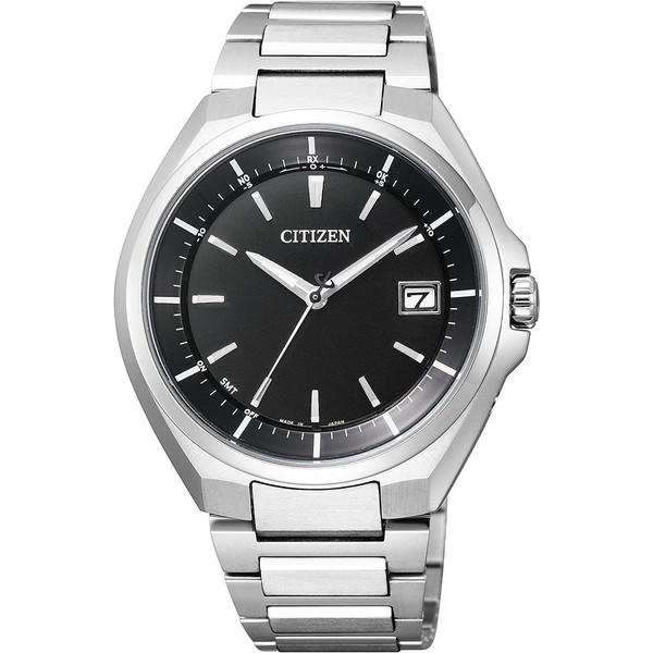 【送料無料】CITIZEN(シチズン) CB3010-57E ブラック×シルバー ATTESA(アテッサ) [ソーラー電波腕時計 (メンズウオッチ)]