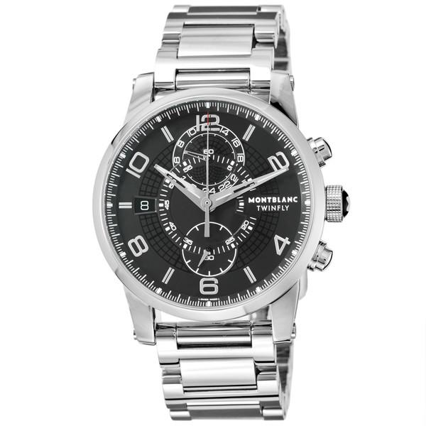 【送料無料】Montblanc(モンブラン) 104286 タイムウォーカー ツインフライ クロノグラフ [自動巻き腕時計 (メンズ)]