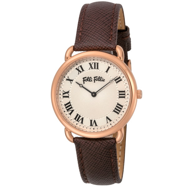 【送料無料】Folli Follie(フォリフォリ) WF16R013SPS-BR パーフェクト・マッチ [クォーツ腕時計 (レディース)] 【並行輸入品】