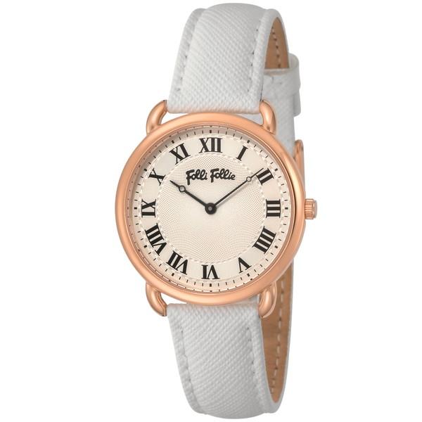 【送料無料】Folli Follie(フォリフォリ) WF16R013SPS-WH パーフェクト・マッチ [クォーツ腕時計 (レディース)] 【並行輸入品】