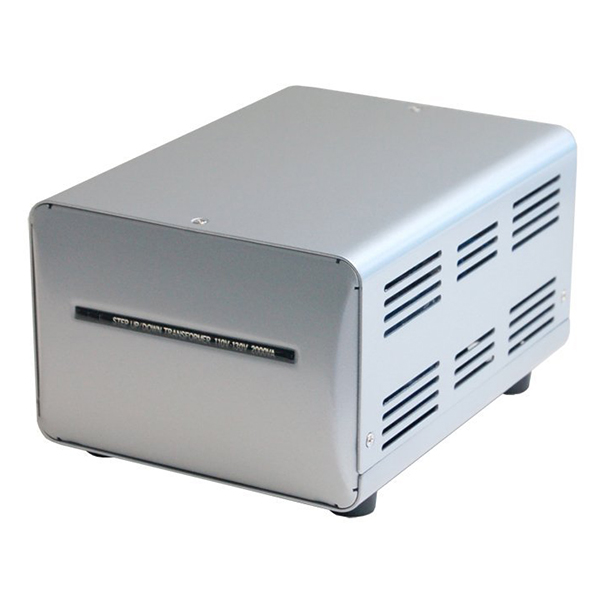 カシムラ NTI-150 [海外国内用薄型変圧器110-130V/2000VA]