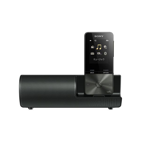 【送料無料】SONY NW-S315K-B ブラック WALKMAN Sシリーズ [メモリーオーディオ (16GB) スピーカー付属モデル]