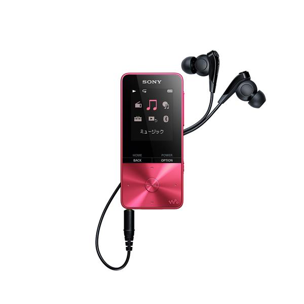 SONY NW-S315-P ビビッドピンク WALKMAN Sシリーズ [メモリーオーディオ (16GB)]