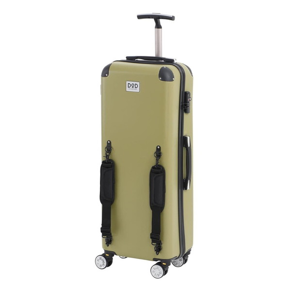DOD CC1-514 カーキ キャンパーノ・コロコーロ [スーツケース(58L/TSAロック搭載)]