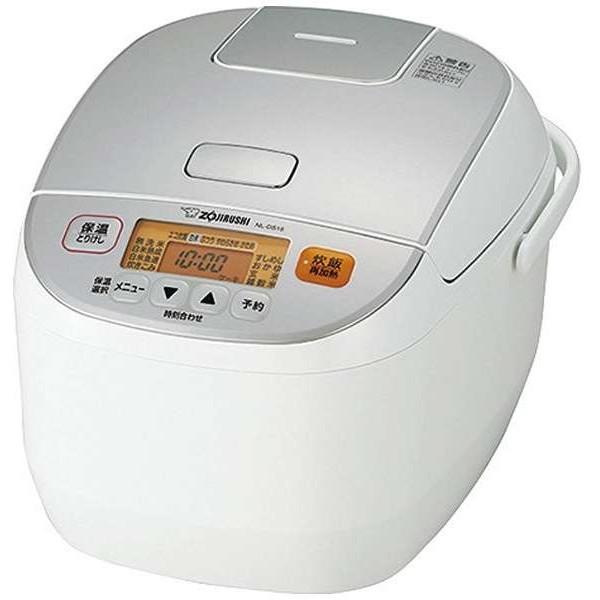 【送料無料】象印 NL-DS18-WA ホワイト 極め炊き [マイコン炊飯器(1升炊き)]