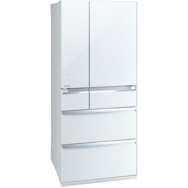 【送料無料】MITSUBISHI MR-WX70C-W クリスタルホワイト 置けるスマート大容量 WXシリーズ [冷蔵庫 (700L・フレンチドア)]