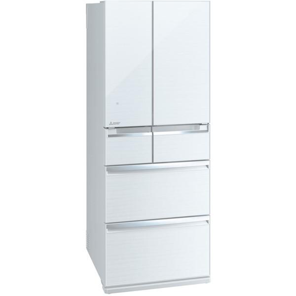 【送料無料】MITSUBISHI MR-WX47LC-W クリスタルホワイト 置けるスマート大容量 WXシリーズ [冷蔵庫 (470L・フレンチドア)] 【代引き・後払い決済不可】【離島配送不可】
