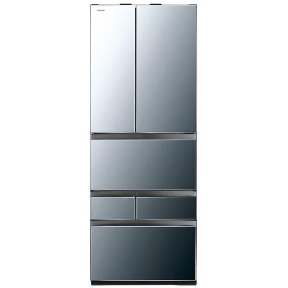【送料無料】東芝 GR-M550FWX(X) ダイヤモンドミラー VEGETA FWXシリーズ [冷蔵庫(551L・フレンチドア)]