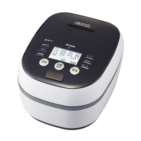 【送料無料】TIGER JPH-A100-WH ホワイトグレー 炊きたて [炊飯器(5.5合)]
