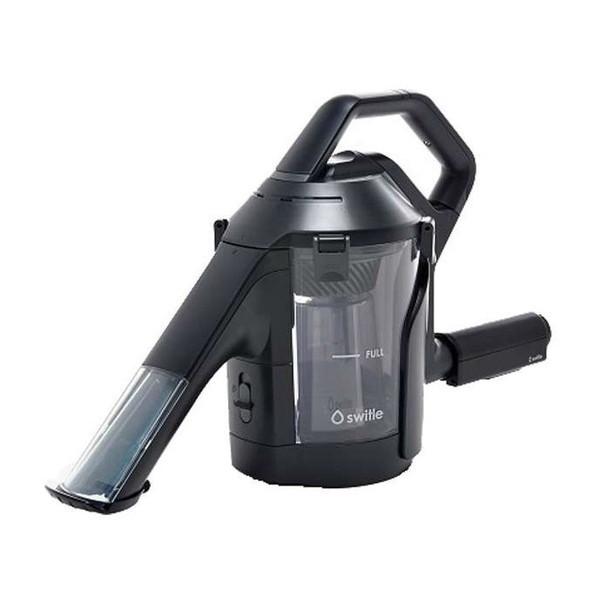 【送料無料】Sirius SWT-JT500K ブラック switle(スイトル) [水洗いクリーナーヘッド]