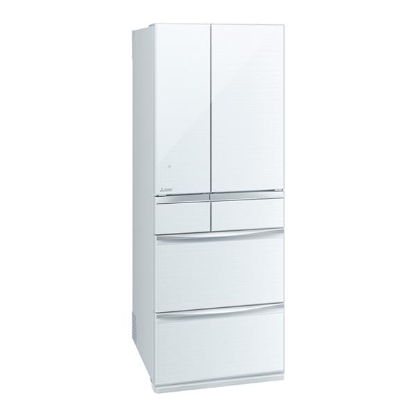 【送料無料】MITSUBISHI MR-MX57D-W クリスタルホワイト 置けるスマート大容量 MXシリーズ [冷蔵庫(572L・フレンチドア)] 【代引き・後払い決済不可】【離島配送不可】