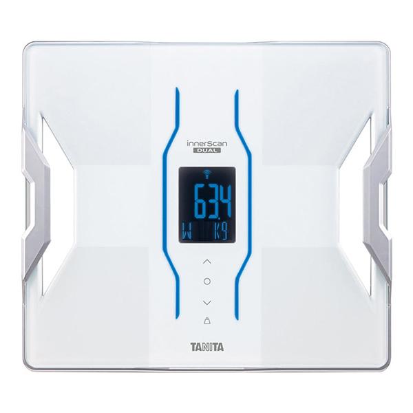 タニタ 体重計 RD-906-WH ホワイト bluetooth スマホ連動 アプリで管理 TANITA RD906 体組成計 体脂肪計 日本製 バックライト iphone Android 推定骨量 筋肉量 内臓脂肪 RD-908と同等品