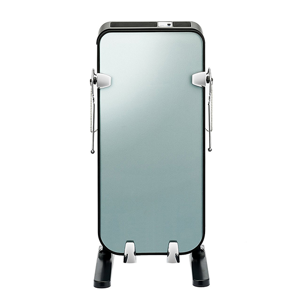 ガラスパネルで結果が見える。 ツインバード TWINBIRD SA-D719B パンツプレス ズボンプレッサー ガラスパネル パンツプレッサー プレス器 アイロン