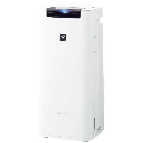 【送料無料】SHARP KI-JS40-W ホワイト系 [加湿空気清浄機 (空清18畳まで/加湿12畳まで)]