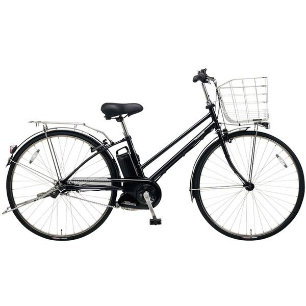 【送料無料】PANASONIC BE-ELDT755-B ピュアブラック ティモ・DX [電動アシスト自転車(27インチ・内装5段変速)]【同梱配送不可】【代引き不可】【本州以外配送不可】