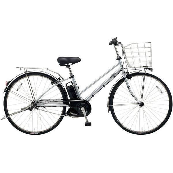 【送料無料】PANASONIC BE-ELDT755-S2 モダンシルバー ティモ・DX [電動アシスト自転車(27インチ・内装5段変速)] 【同梱配送不可】【代引き・後払い決済不可】【本州以外の配送不可】