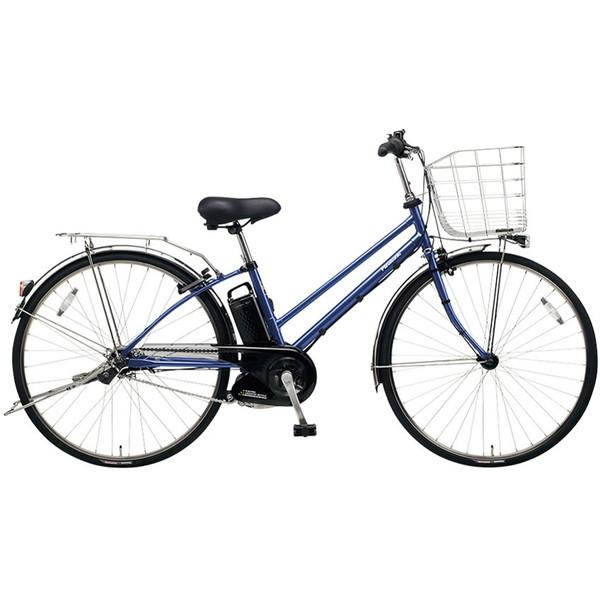 【送料無料】PANASONIC BE-ELDT755-V2 インディゴブルーメタリック ティモ・DX [電動アシスト自転車(27インチ・内装5段変速)]【同梱配送不可】【代引き不可】【本州以外配送不可】