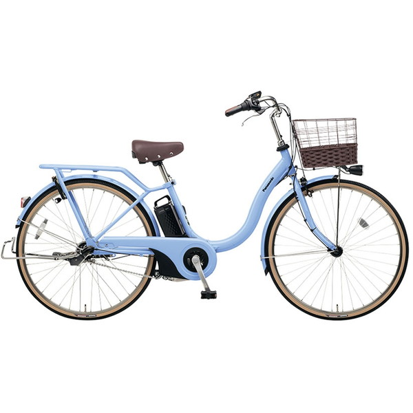 【送料無料】PANASONIC BE-ELSL63-V ペールブルー ティモ・L [電動アシスト自転車(26インチ・内装3段変速)]【同梱配送不可】【代引き不可】【本州以外配送不可】