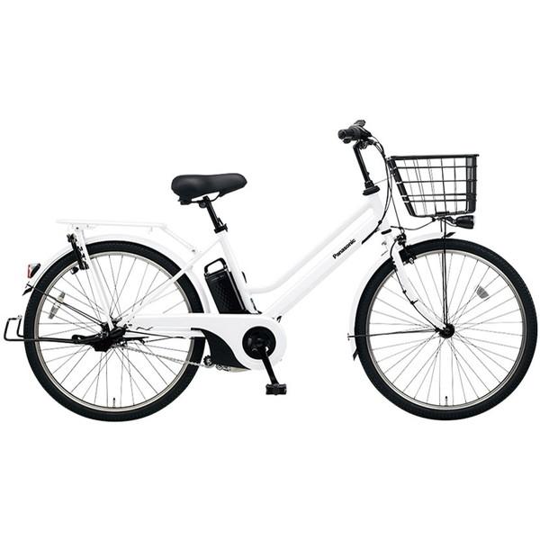 【送料無料】PANASONIC BE-ELST634-F アクティブホワイト ティモ・S [電動アシスト自転車(26インチ・内装3段変速)]【同梱配送不可】【代引き不可】【本州以外配送不可】