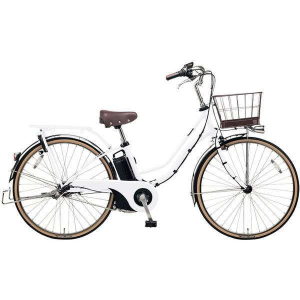 【送料無料】PANASONIC BE-ELTA632-F2 ホワイトパールクリア ティモ・I [電動アシスト自転車(26インチ・内装3段変速)]【同梱配送不可】【代引き不可】【本州以外配送不可】