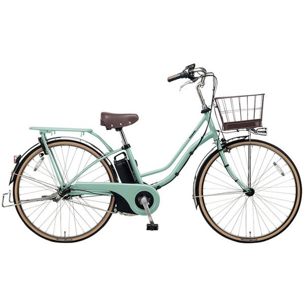 【送料無料】PANASONIC BE-ELTA632-G2 ミスティグリーン ティモ・I [電動アシスト自転車(26インチ・内装3段変速)]【同梱配送不可】【代引き不可】【本州以外配送不可】