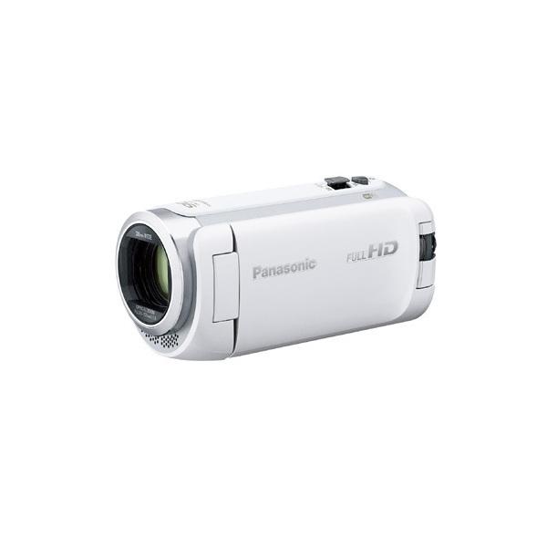 【送料無料】PANASONIC HC-W590M-W ホワイト [デジタルハイビジョンビデオカメラ(SD対応・64GBメモリー内蔵)]