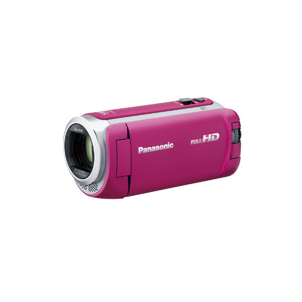 【送料無料】PANASONIC HC-W590M-P ピンク [デジタルハイビジョンビデオカメラ(SD対応・64GBメモリー内蔵)]