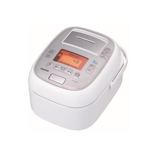 【送料無料】東芝 RC-10VXM-W グランホワイト 圧力+真空 合わせ炊き [真空圧力IHジャー炊飯器 (5.5合炊き)]