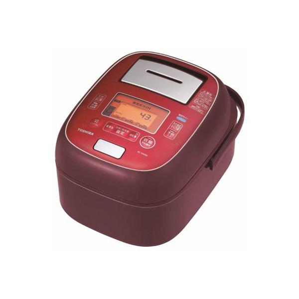 【送料無料】東芝 RC-10VXM-RS ディープレッド 圧力+真空 合わせ炊き [真空圧力IHジャー炊飯器 (5.5合炊き)]