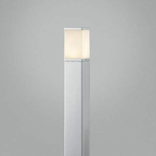 【送料無料】コイズミ AUE664147 シルバーメタリック [LEDガーデンライト灯具 表ネジ式 60W相当 電球色 290lm]