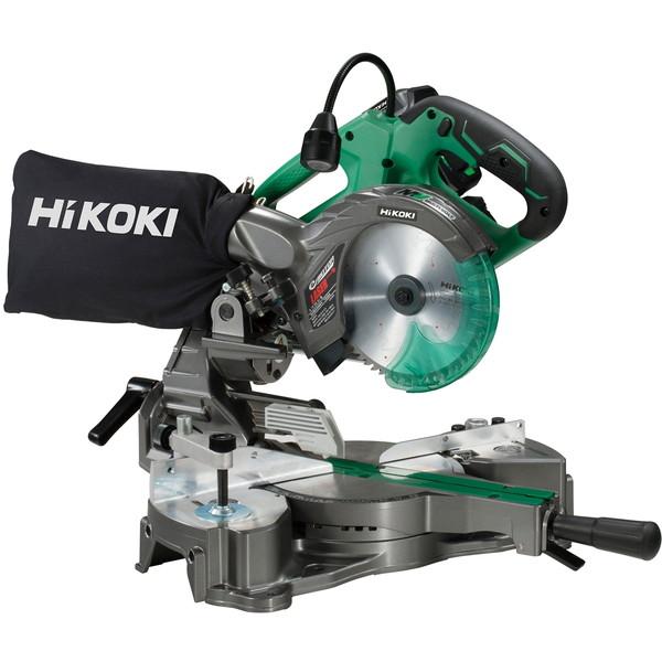 コードレスの機動性にパワフルさを兼ね備えたマルチボルトシリーズ! HiKOKI C3606DRA(XP) [コードレス卓上スライド丸のこ]