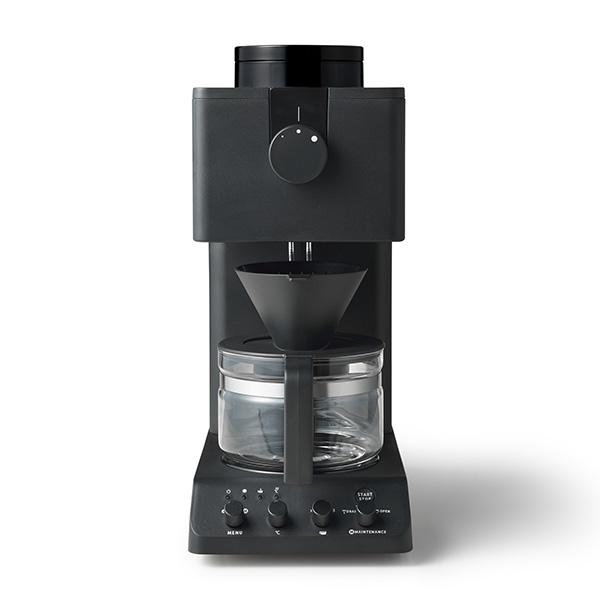 【送料無料】TWINBIRD CM-D457B ブラック [全自動コーヒーメーカー (3杯分)]