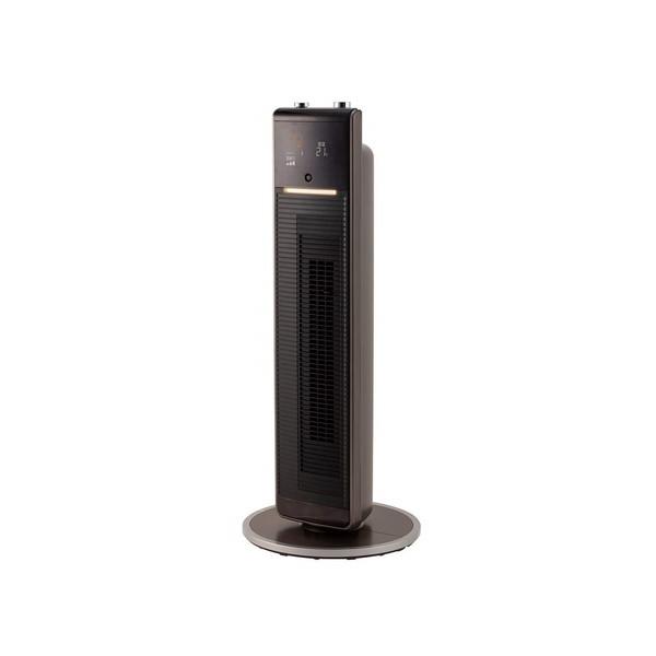 【送料無料】コイズミ KHF-1285/T ブラウン ホット&クール [プレミアムタワーファン(人感センサー搭載)]