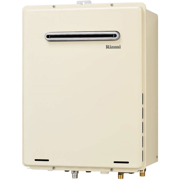 Rinnai RUF-A1605SAW(B)-LP [ガスふろ給湯器 (プロパンガス用・16号・屋外壁掛/PS標準設置 オート )]