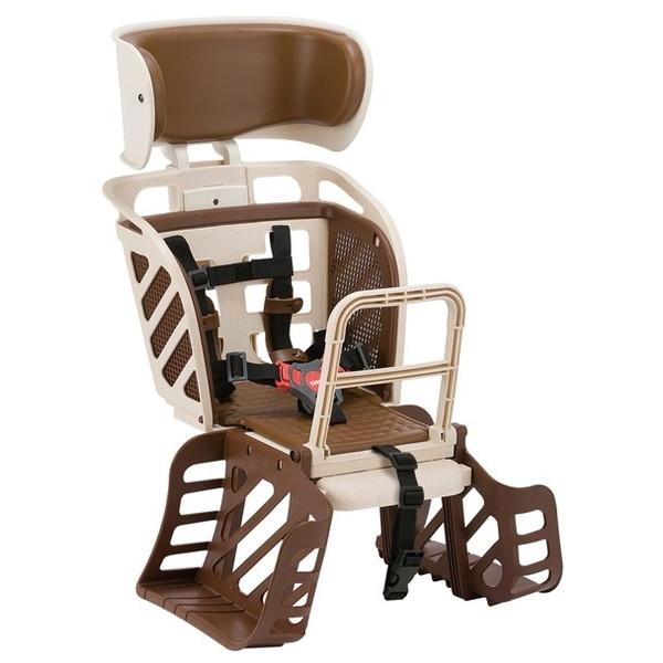 OGK技研 フリーキャリーシステム用ヘッドレスト付着脱後ろ子供乗せ RBC-009DXF3 Mベージュ (21364)