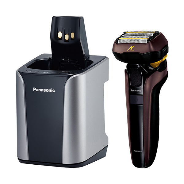 PANASONIC ES-CLV7D-T 茶 LAMDASH (ラムダッシュ) [メンズシェーバー (5枚刃)]