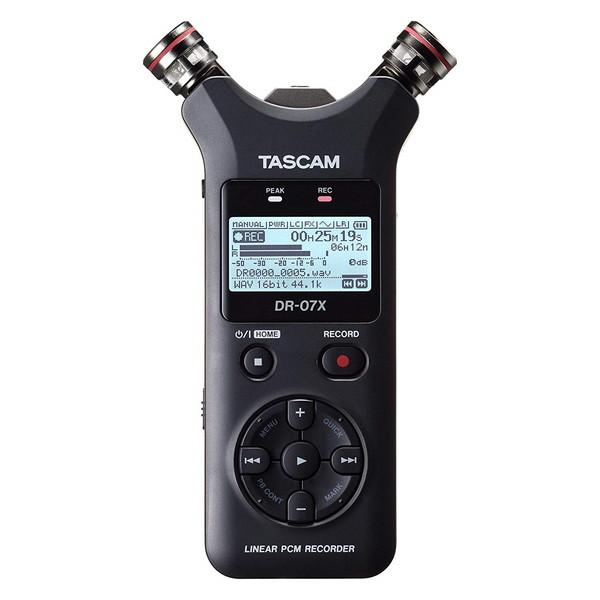 【送料無料】TASCAM DR-07X [リニアPCM対応ICレコーダー 外部マイクロSDスロット搭載]