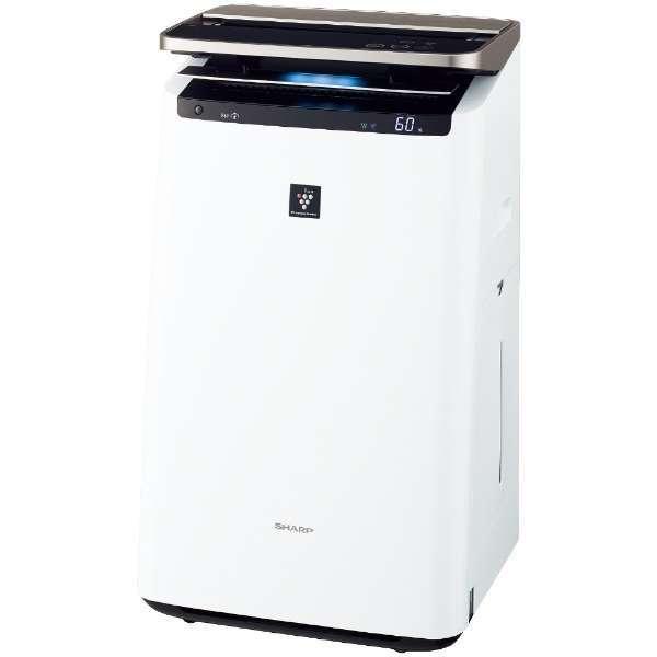 【送料無料】SHARP KI-JP100 ホワイト系 [加湿空気清浄機(空気清浄46畳/加湿26畳まで)]