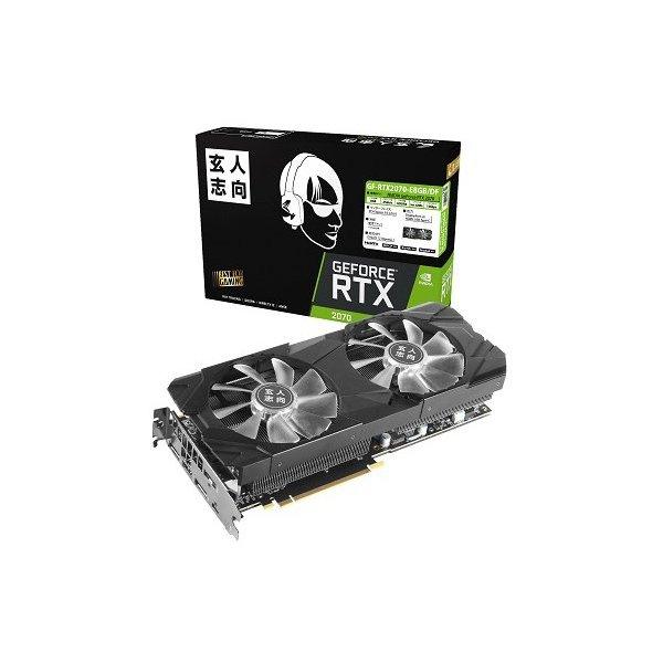 【送料無料】玄人志向 GF-RTX2070-E8GB/DF NVIDIA GEFORCE RTX 2070搭載 [PCI Express対応ビデオカード (8GB)]